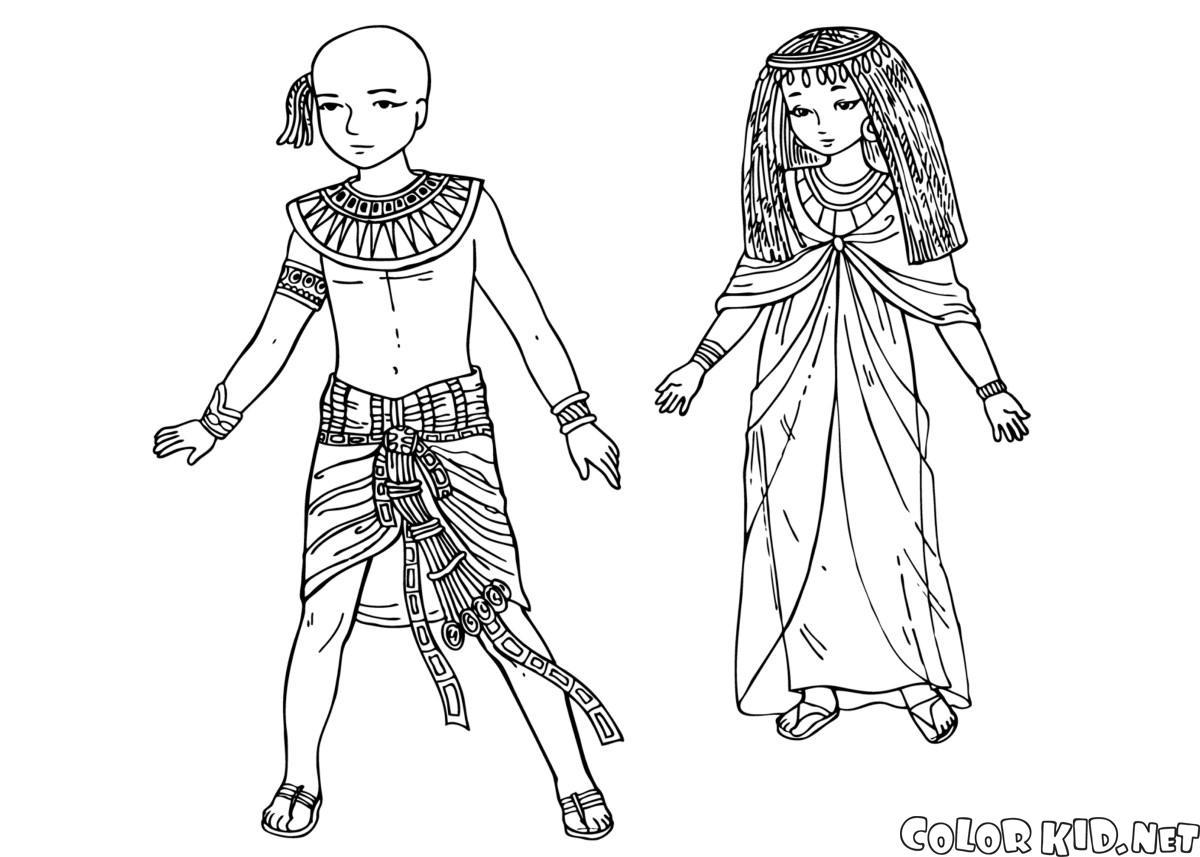 古代エジプトの子どもたち