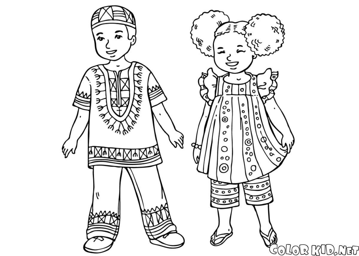アフリカの子どもたち