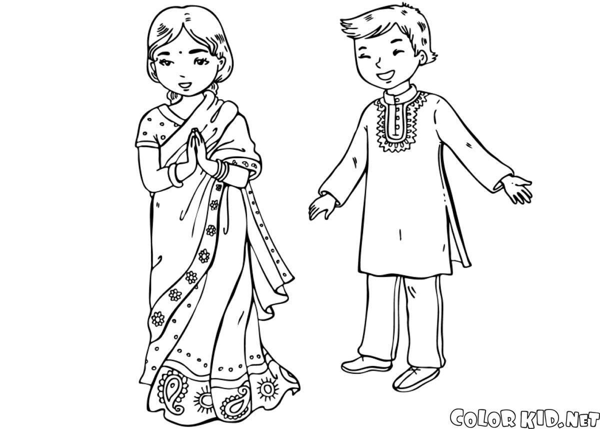 インドの子どもたち