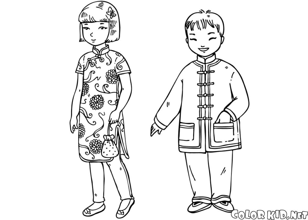 中国の子どもたち