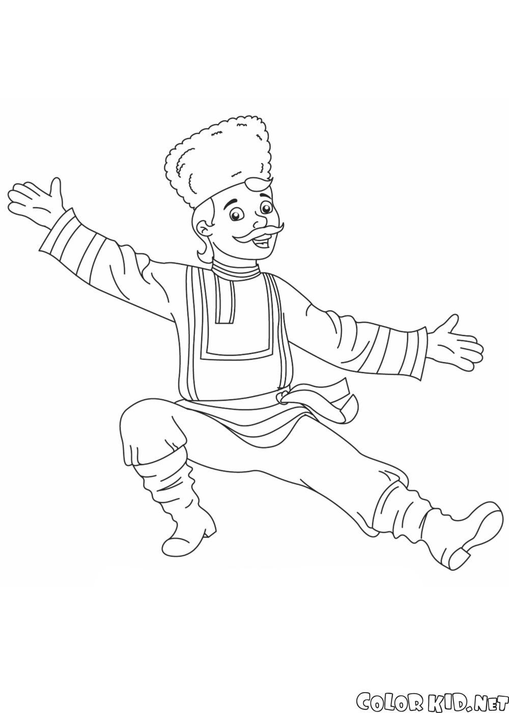 ロシアのダンサー