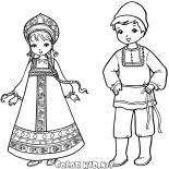 ロシアの子どもたち