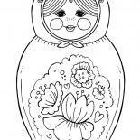 マトリョーシカのおもちゃ